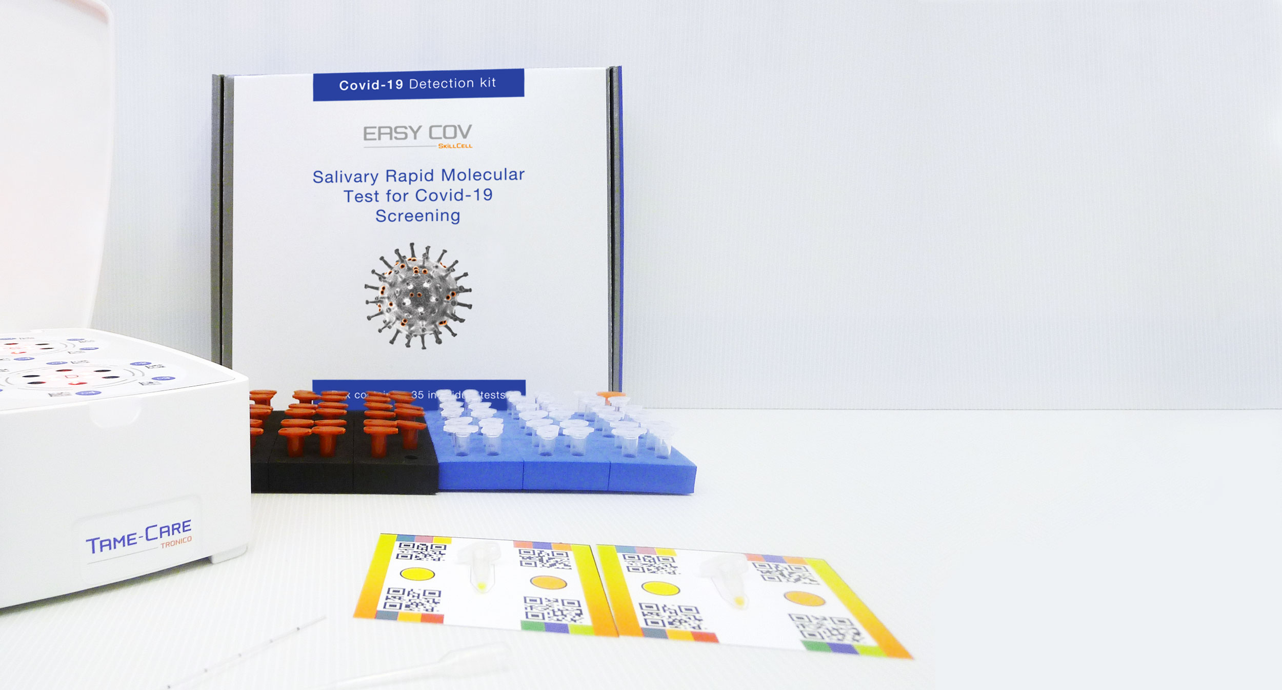 EasyCOV, Covid-19 salivary rapid and easy test